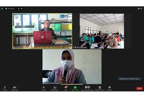 Kementerian KP Gelar Pelatihan Dukung Pengembangan Kampung Budi Daya