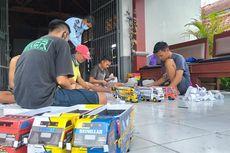 Miniatur Truk Oleng, Kerajinan Karya Narapidana di Rutan Purbalingga