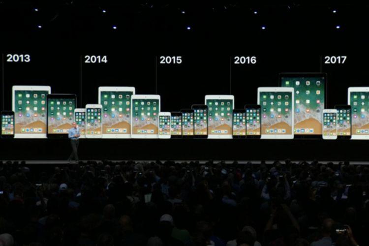 Update iOS 12 akan hadir di perangkat-perangkat Apple, termasuk yang lawas sejak 2013.