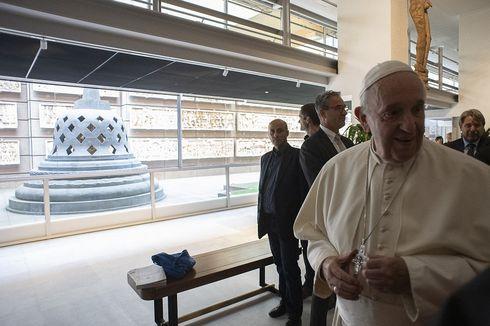 Paus Fransiskus Kunjungi Taman Borobudur di Museum Etnologi Vatikan