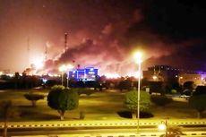 Diserang Drone, Pabrik Minyak Arab Saudi Aramco Kebakaran
