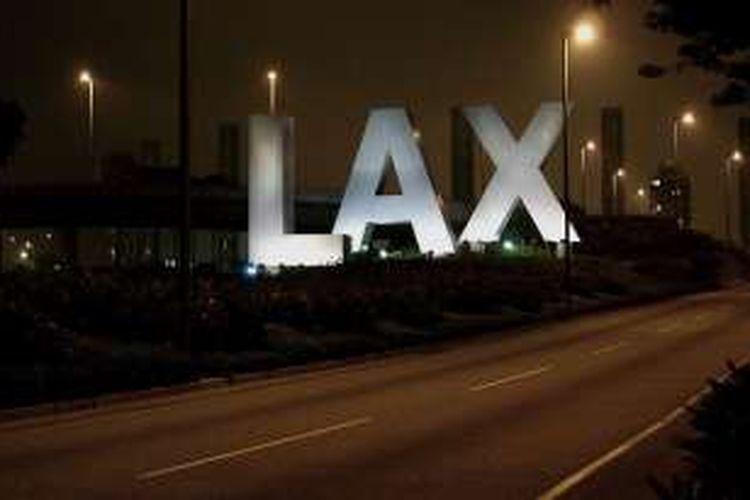 Bandara LAX, Los Angeles, AS.