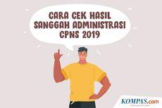 INFOGRAFIK: Cara Cek Hasil Sanggah Administrasi CPNS 2019