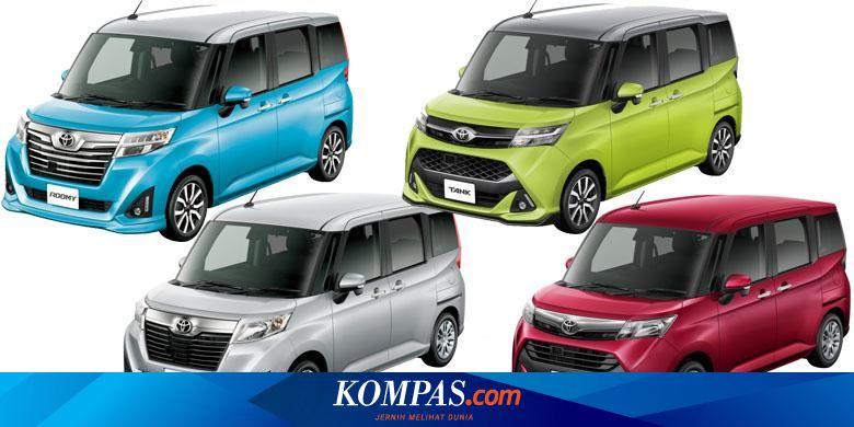 Mpv Pintu Geser Baru Toyota Diproduksi Daihatsu