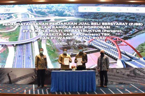 Saham Waskita di Tol Semarang-Batang dan Cinere-Serpong Dilepas ke SMI