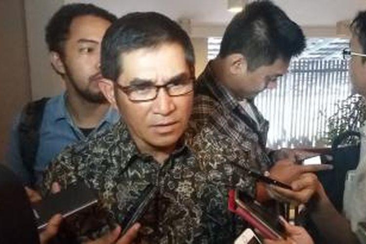 Mantan Ketua Mahkamah Konstitusi, Hamdan Zoelva, saat ditemui di Cikini, Jakarta Pusat, Jumat (12/6/2015).