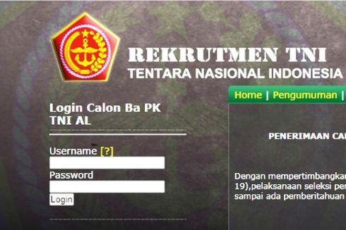 Pendaftaran Online Bintara TNI AL bagi Lulusan SMA Masih Dibuka
