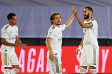Hadiah Penalti Real Madrid dalam 3 Laga Beruntun