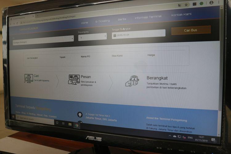 Sistem Integrasi Pulo Gebang (SIGOBANG), sudah bisa dinikmati calon penumpang. Kini penumpang tak usah bingung membeli tiket online, lewat SIGOBANG calon penumpang bisa membeli tiket bus secara online, namun hanya untuk beberapa bus.