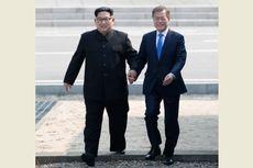 Begini Guyonan Kim Jong Un dalam Pertemuan dengan Presiden Moon
