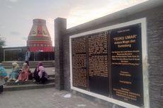Senja Tenggelam di Monumen Kupiah Meukeutop Teuku Umar