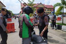 Pasca-bom Bunuh Diri di Polrestabes Medan, Seluruh Driver Ojol yang Masuk ke Mapolresta Samarinda Diperiksa