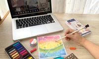 Menggambar Jadi Alternatif Asah Keterampilan Selama Belajar dari Rumah