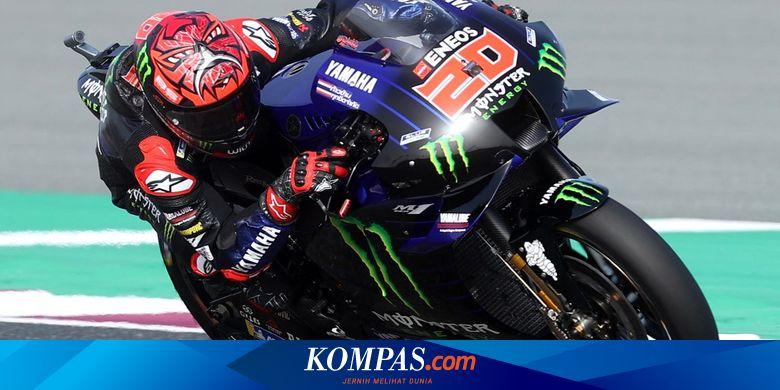 Hasil Kualifikasi Motogp Portugal 2021 Quartararo Pole Position Marquez Halaman All Kompas Com