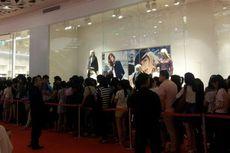 Antre Sejak Dini Hari Demi Voucher H&M Sejuta Rupiah