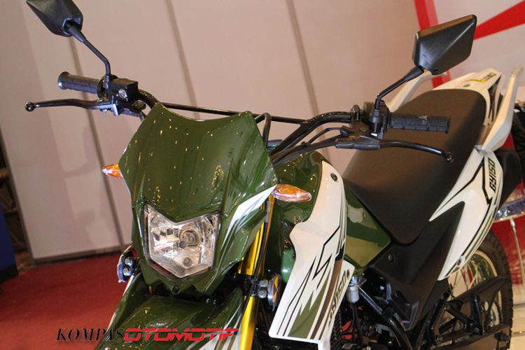 Motor trail penantang Honda CRF150 dari SM Sport dari Malaysia
