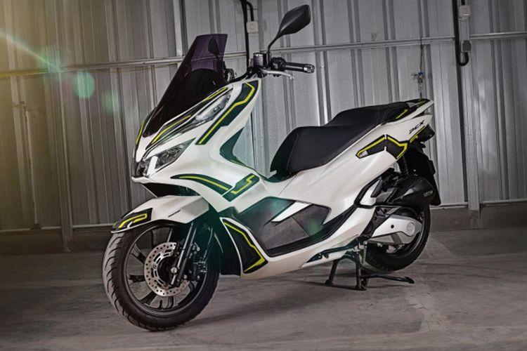 Honda PCX 150 body protector Hayaidesu