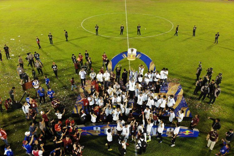 PSM Makassar menjuarai Piala Indonesia 2018.