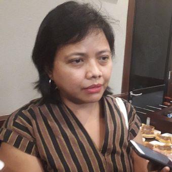Pakar Hukum Tata Negara Bivitri Susanti usai menghadiri sebuah diskusi di kawasan Cikini, Jakarta Pusat, Selasa (30/7/2019).