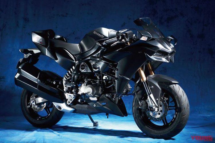 Kawasaki Z125 dimodifikasi menjadi Ninja H2 versi mini