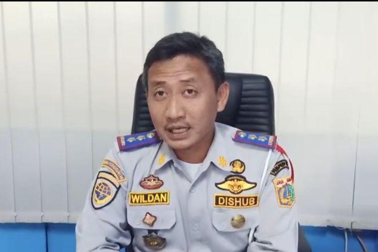 Kasilops Sudin Perhubungan Jakarta Barat, M. Wildan Anwar, Kamis (31/12/2020).