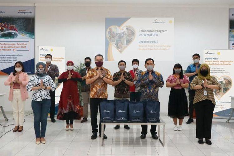Universal BPR meluncurkan program Deposito Peduli, Jumat (15/5/2020)