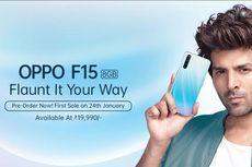 Oppo F15 Resmi Diluncurkan, Berapa Harganya?