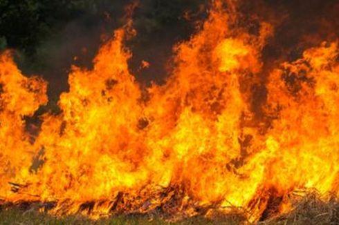 Terjebak Dalam Rumah Terbakar, 2 Anak di Tapin Kalsel Tewas