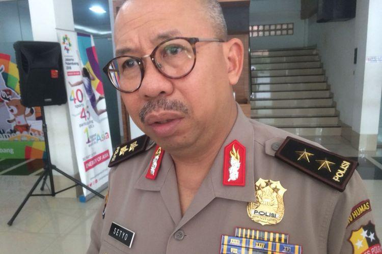 Kepala Divisi Humas Mabes Polri Irjen (Pol.) Setyo Wasisto saat ditemui di Gedung Humas Mabes Polri, Jumat (2/11/2018).