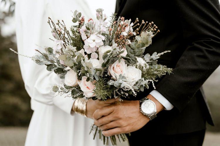 Ilustrasi pernikahan.