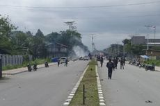 Situasi di Timika Mimika Mulai Kondusif, Kapolres Patroli Keliling Kota