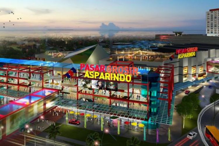 Rencana proyek Pasar Grosir Asparindo Ciledug (PGAC) dipamerkan pada Indonesia Property Expo (IPEX) 2017 sejak 11-19 Februari 2017 di Jakarta Convention Centre, Jakarta. Proyek tersebut dikembangkan oleh Grup Eureka.