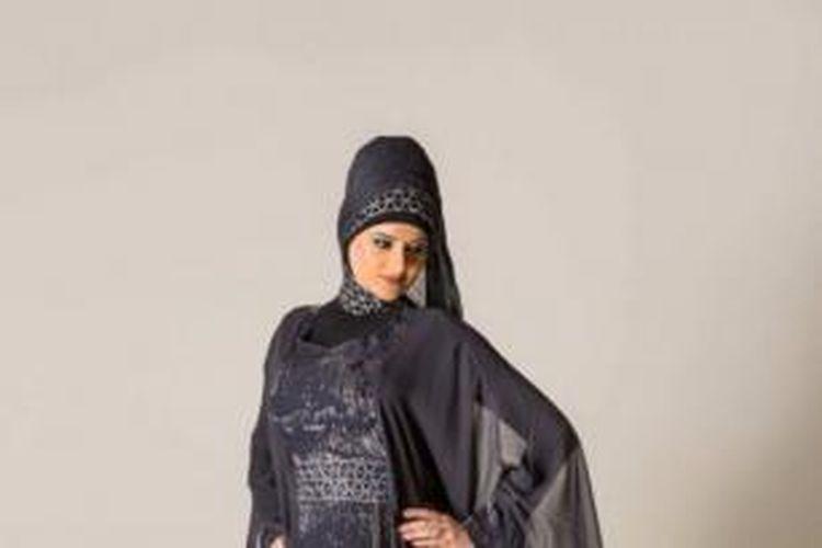 Inilah salah satu busana muslim yang sedang dipamerkan di Australia.