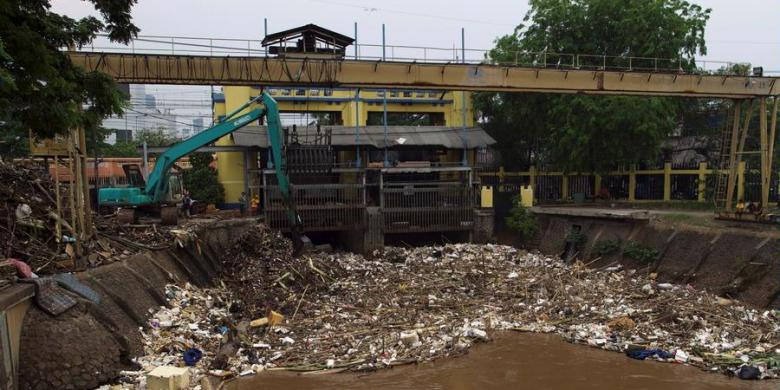 Banjir Jakarta Terbukti Gara Gara Sampah Kompas Com