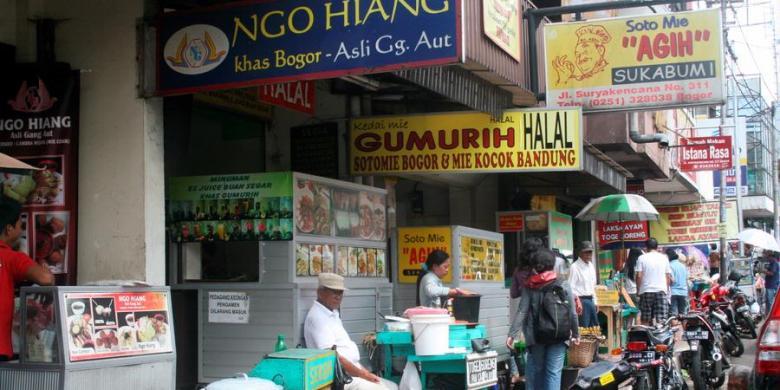 Mendambakan Pusat Kuliner Halal Di Kota Bogor Halaman All Kompas Com