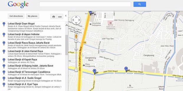 Pantau banjir jakarta dari google maps kompas pantau banjir jakarta dari google maps publicscrutiny Image collections