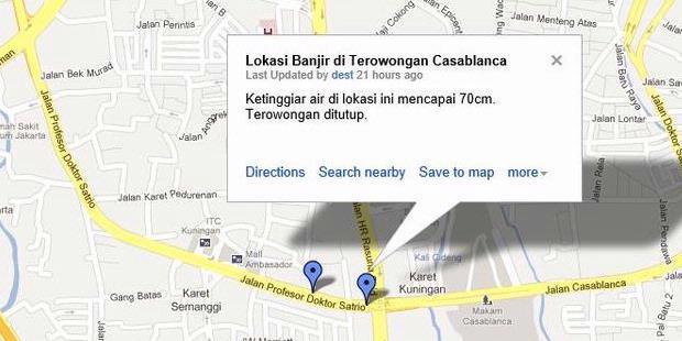 Pantau banjir jakarta dari google maps kompas anda dapat mengakses peta interaktif banjir jakarta dalam google maps di tautan ini lokasi yang diberi tanda berwarna biru merupakan titik banjir publicscrutiny Image collections