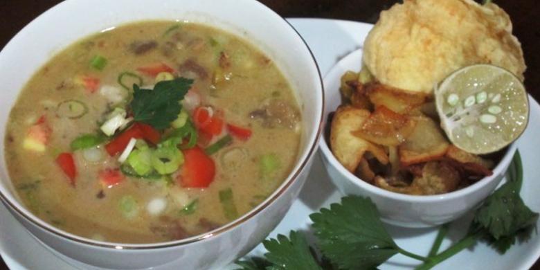 Masakan Khas Betawi Disajikan Di Santika Tmii Kompas Com