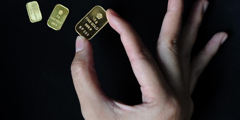 Harga Emas Antam Hari Ini Turun Rp 6000 Per Gram Kompascom