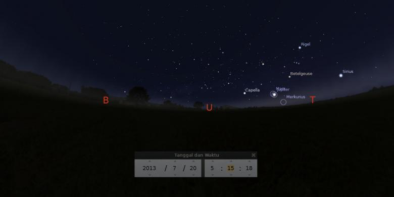 Minggu Ini Langit Fajar Ramai Planet Dan Bintang