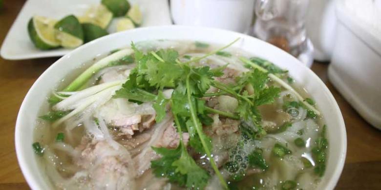 Kehangatan Vietnam Dalam Semangkuk Pho