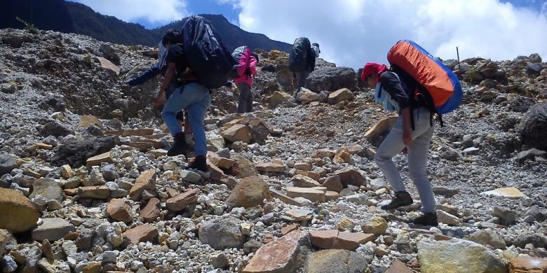 Gunung Papandayan Cocok Untuk Pendaki Pemula Kompas Com