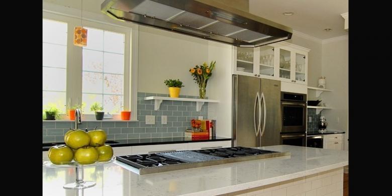 Khusus Dapur Sisakan Sedikit Untuk Penghawaan