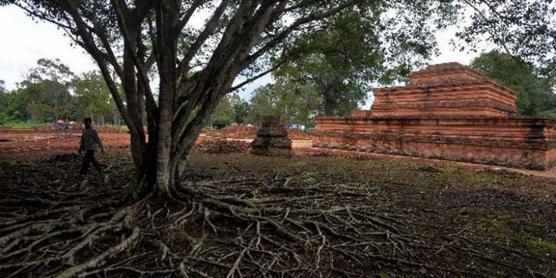 Kunjungan Wisatawan Ke Candi Muaro Jambi Meningkat