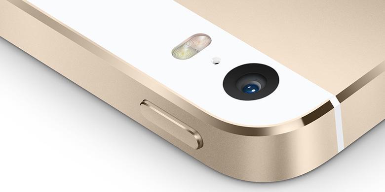 Kamera pada iPhone 5S dibekali flash dengan dua warna berbeda 0144a5991e