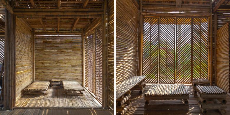 Rumah Bambu Yang Hangat Dan Tahan Banjir