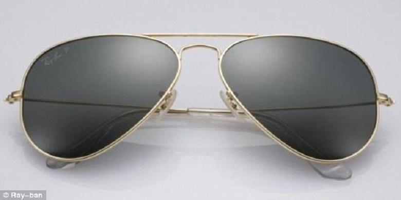 Ray Ban Luncurkan Kacamata Berbingkai Emas - Kompas.com 4fe5ea714f