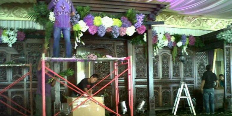 Bunga Pelaminan Royal Wedding Didatangkan Dari Belanda Kompascom