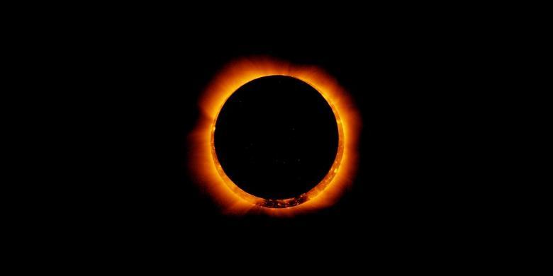 Gerhana Matahari Hibrid Bagaimana Bisa Terjadi