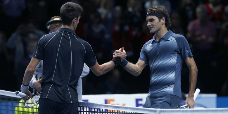 Rivalitas Djokovic dan Federer pada 2013